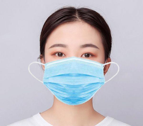 Mund-Nasen Maske Einwegmaske 50er Pack